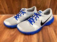 Men's grey & blue NIKE Free Run Flex Experience RN trainers, size 9