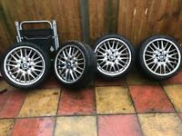 Bmw alloy wheels selling set of 4 18 inch mv1 1 needs attention