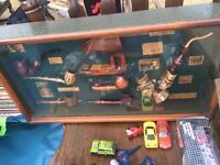 Antique memorabilia frames