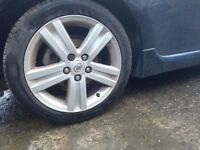 TOYOTA AURIS ALLOY WHEELS 17 INCH