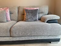 L sofa and armchair to match