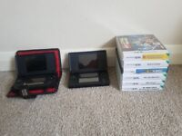 Nintendo DS Lite x 2 with Games (SOLD)
