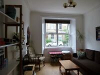 Short Term - 2 bedroom main door flat in Polwarth