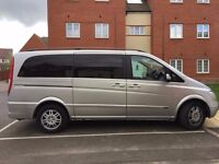 Mercedes Viano 2004 2.1 CDI AUTOMATIC DIESEL MPV 8 SEATER 12 MONTHS MOT AUTO EIGHT SEATS