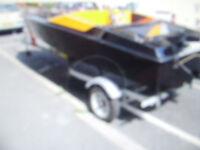 16FT mig speedboat + trailer brand new