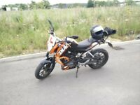 KTM DUKE 125 2015 ABS LOTS OF EXTRAS ONO