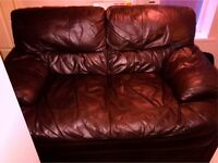 Leather sofas 3&2 Seater