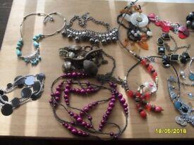 lots of fashion jewellery