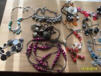 lots of fashion jewellery