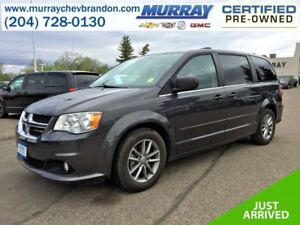 2015 Dodge Grand Caravan SXT Premium Plus FWD Stow-N-Go *Power S