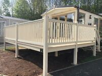 ***STUNNING STATIC CARAVAN FOR SALE*** ABI FOCUS WITH SUNDECK INCLUDED.ONLY ONE AVAILABLE