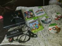 250GB WiFi MicroSoft XBOX 360s Slim Games Console All Leads As Well As Games