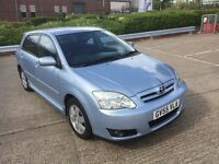 TOYOTA COROLLA 1.4 VVTI 48000 LOW MILAGE FULL SERVICE HISTORY