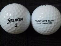 Srixon Marathon Distance Golf Balls x 100. Pearl Condition