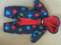 Baby boy snow suit John Rocha 3-6 mths fab condition