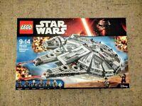 LEGO Star Wars Millennium Falcon, brand new, sealed