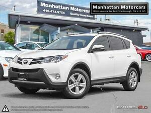 2014 TOYOTA RAV4 XLE AWD |CAMERA|1OWNER|WARRANTY|SUNROOF