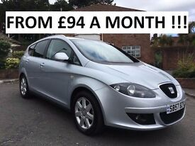 2007 SEAT ALTEA XL 2.0 TDI ** ONLY 40,000 MILES ** FINANCE AVAILABLE ** ALL CARDS ACCEPTED