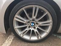 Bmw 1 series 06-11 e81/e87 m sport 4 alloys and tyres