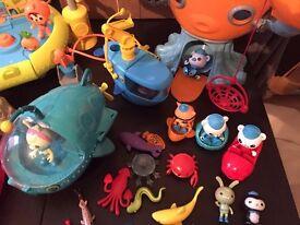 Octonauts bundle of toys