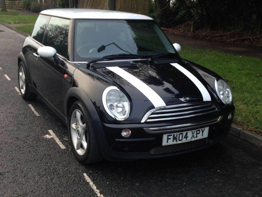 mini cooper black 2004 for sale in bradford west yorkshire gumtree. Black Bedroom Furniture Sets. Home Design Ideas