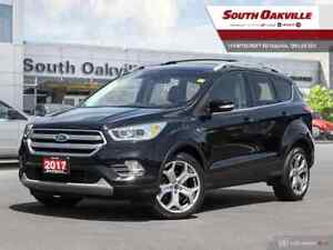 2017 Ford Escape Titanium|BTOOTH|DUAL SROOF|HTD LTHR|NAV