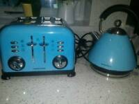 Morphy Richards toaster & kettle