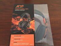 AFX Firestorm H01 Gaming Headset Black & Orange 3.5 mm Jack In-line Controls