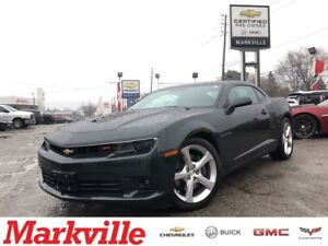 2015 Chevrolet Camaro 2SS-NAVI-ROOF-LEATHER-GM CERTIFIED-1 OWNER