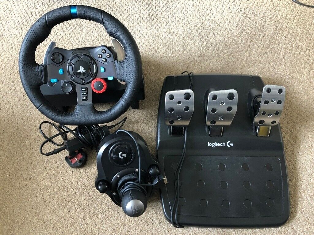 Logitech G29 PS4/PC Racing Wheel with Pedals and Stick Shifter   in  Norwich, Norfolk   Gumtree