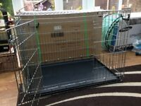 Savic Large Breeds Heavy Duty Dog Crate and Base