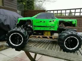 2 stroke petrol 1/5 monster truck