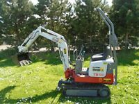 Grounds work, repairs, landscaping, clearances, drains, foundations, mini/micro digger hire