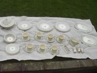 Vintage Mason's Madrigal Floral Pattern Dinner Service~Approx 39 Pieces.