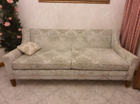 3 Seater Sofa, practically new £800.00 (worth £1900.00)