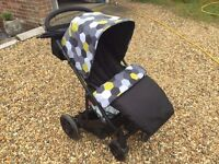 Mamas & Papas Pixo pushchair for birth to three years old.