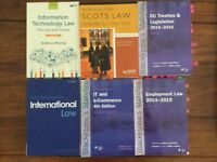 Law Books - essential for your Law Degree £10