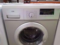 New A+ Class Silver LOGIK 7kg./1200rpm Washing Machine £160