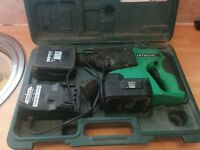 Hitcachi DH240VC(S) 24v SDS charger and batteries ONLY!