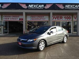 2012 Honda Civic LX AUT0 A/C CRUISE ONLY 102K