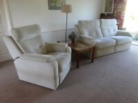 Lounge Suite - G-Plan/DFS sofa and chair