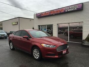 2016 Ford Fusion S LOW KMS LIKE NEW CLEAN CAR PROOF GREAT BUY!!!