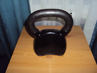 Brand New 9kg Lonsdale Of London Cast Iron Kettlebell