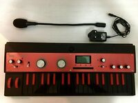 Korg Microkorg Xl Plus Synthesizer 10th Anniversary Model Black X Red