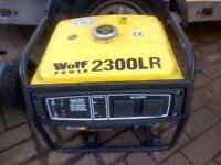 Wolf 2kw quiet run electric generator