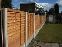 used fencing panels £5
