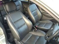 vauxhall corsa full leather interior