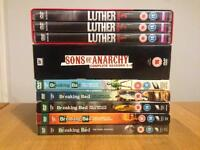 Breaking Bad, Sons of Anarchy, Luther - DVD Job Lot