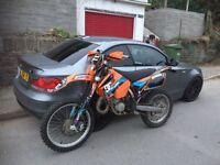 Ktm exc 125 road legal 2005