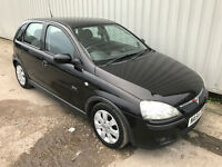 65k miles only!!! 2004 (54) Vauxhall Corsa 1.2 SXI - 9 months MOT - RARE 5 door in best colour BLACK